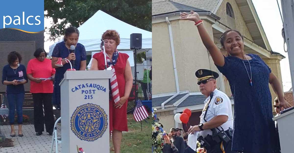 PALCS Student remembers 9/11, Falisha Jones