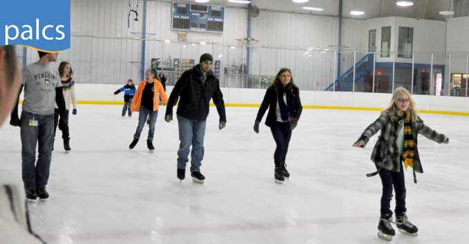 Students and Teachers go Ice Skating