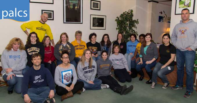 Guidance, College Wear Day, Teachers and Staff wearing college shirts