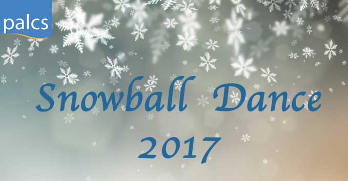 Snowball Dance 2017, Snow Flakes falling background