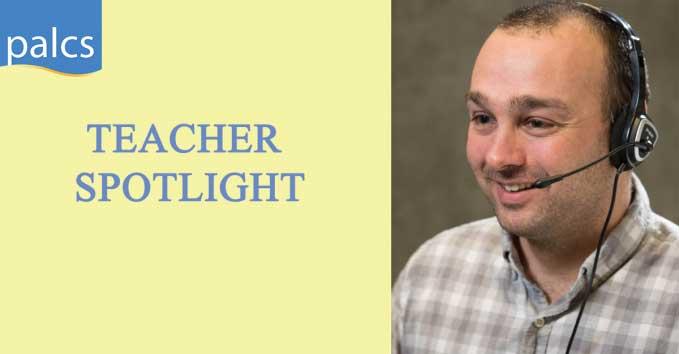 Teacher Spotlight, Mike Logue