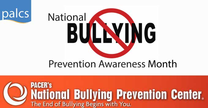 National Bullying Prevention Awareness Month logo