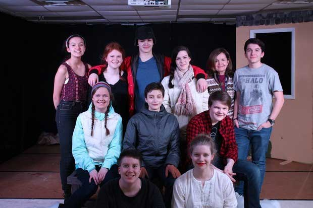 the cast and crew of almost maine
