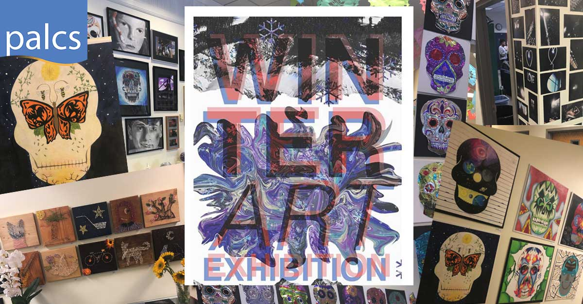 CPFA winter art show collage