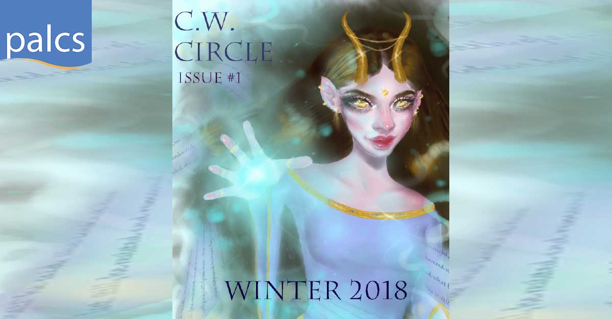 Creative Writing Circle Magazine Cover for Winter 2018