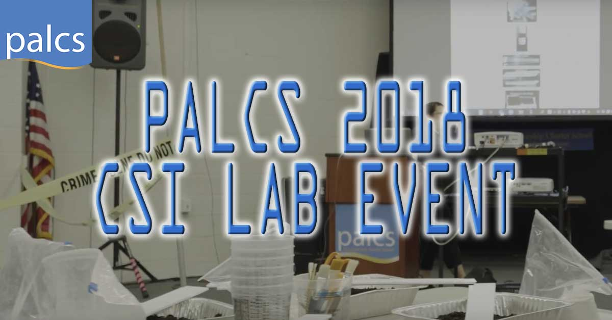 palcs 2018 csi lab event