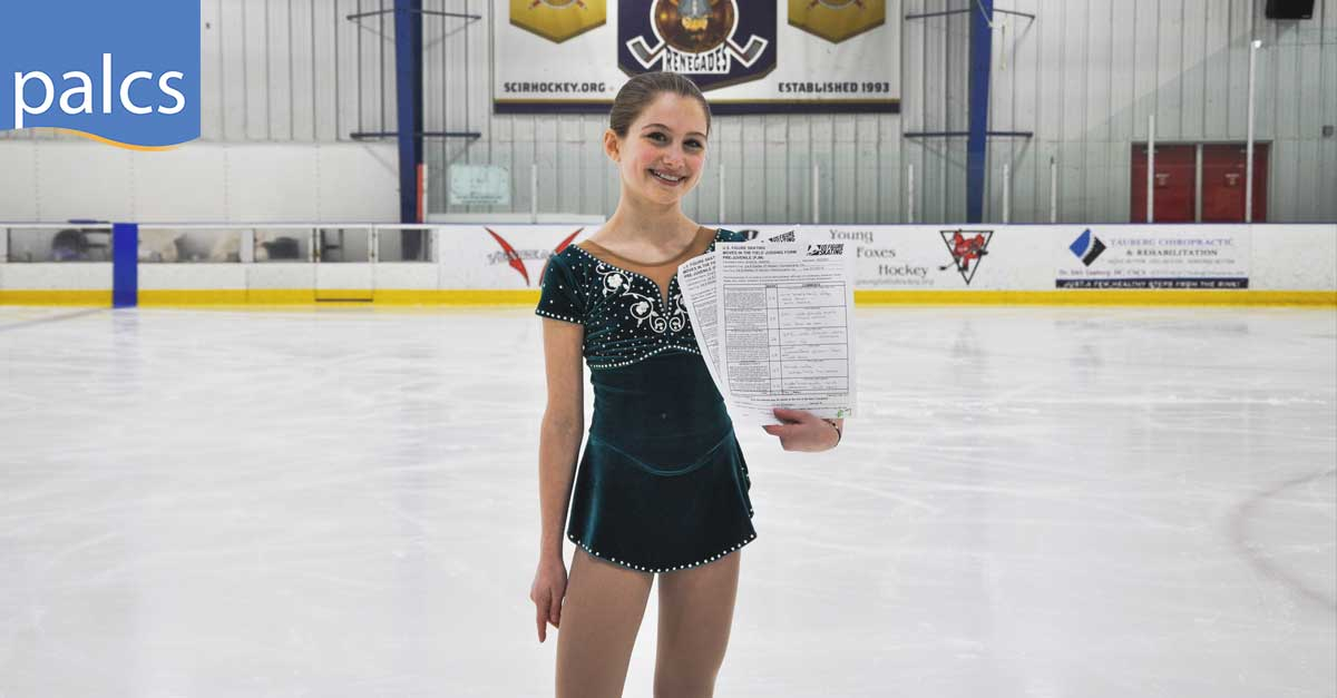 Heather Smarick at Alpha Ice Complex