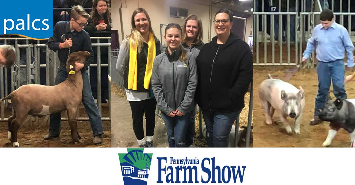PALCS Students participate in the Harrisburg Farm Show.