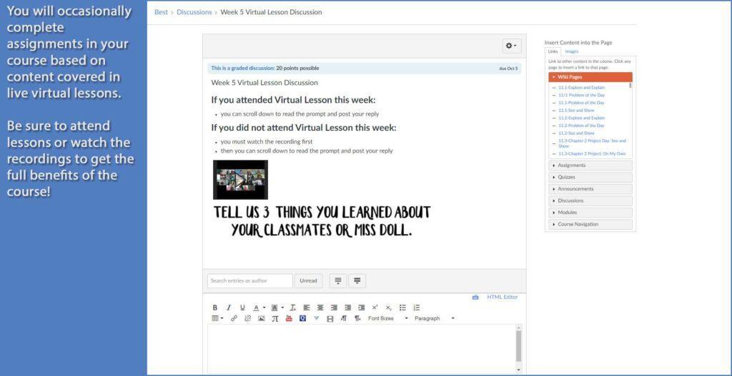 PALCS Virtual Lesson Demo - 3