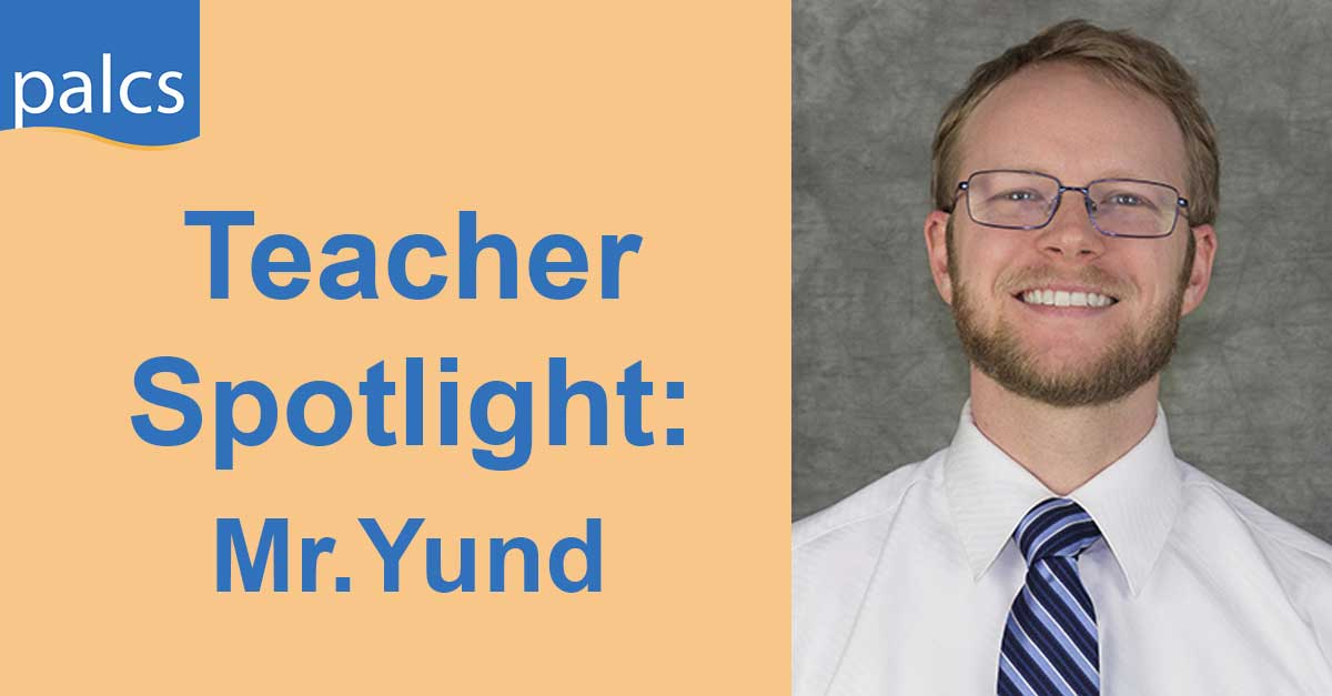 PALCS Teacher Spotlight Yund