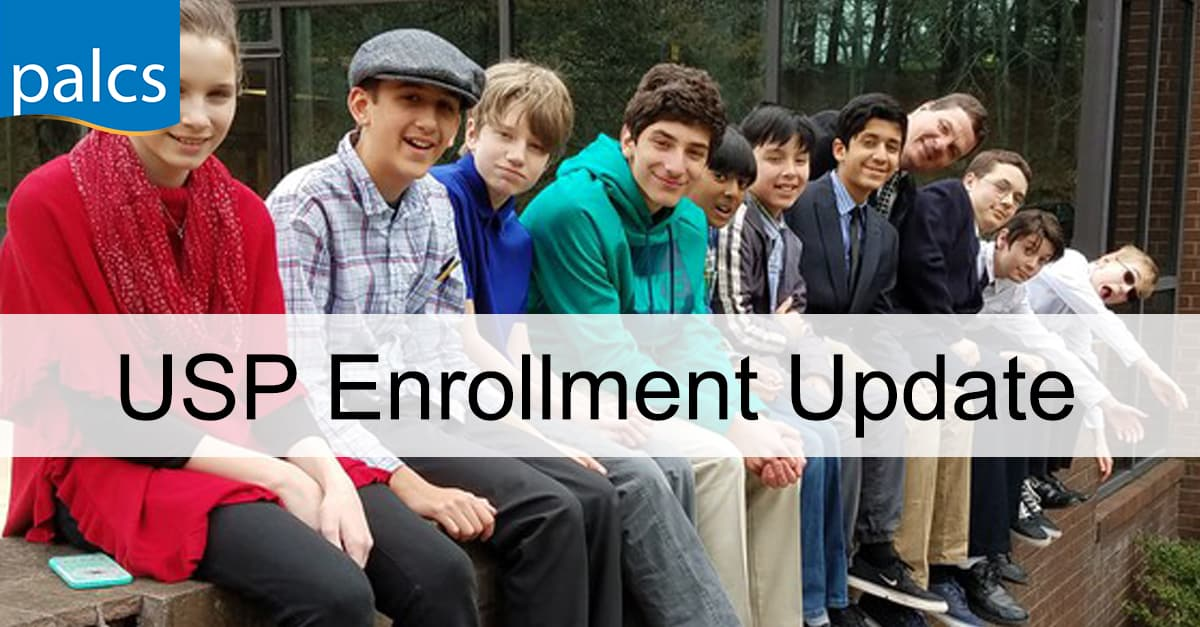 USP Enrollment update