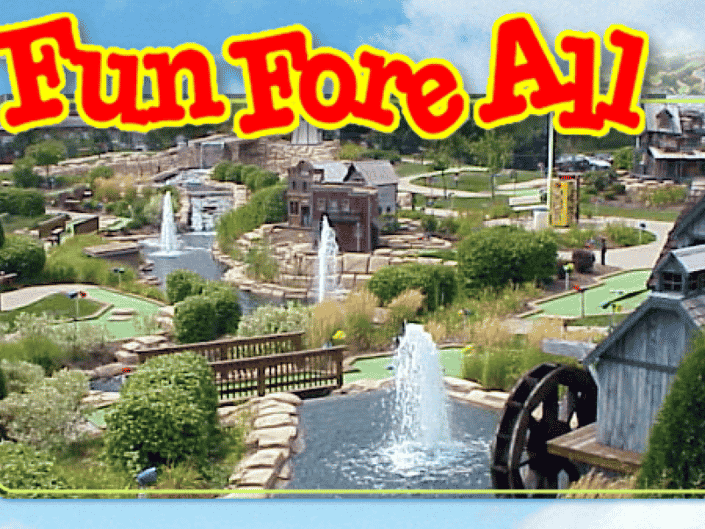 Fun Fore All Family Park overhead view