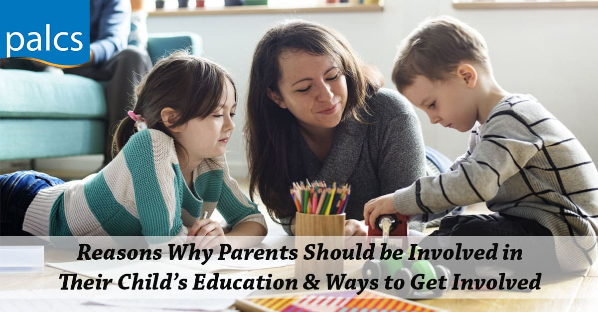 Why Parents should be involved in their child's education