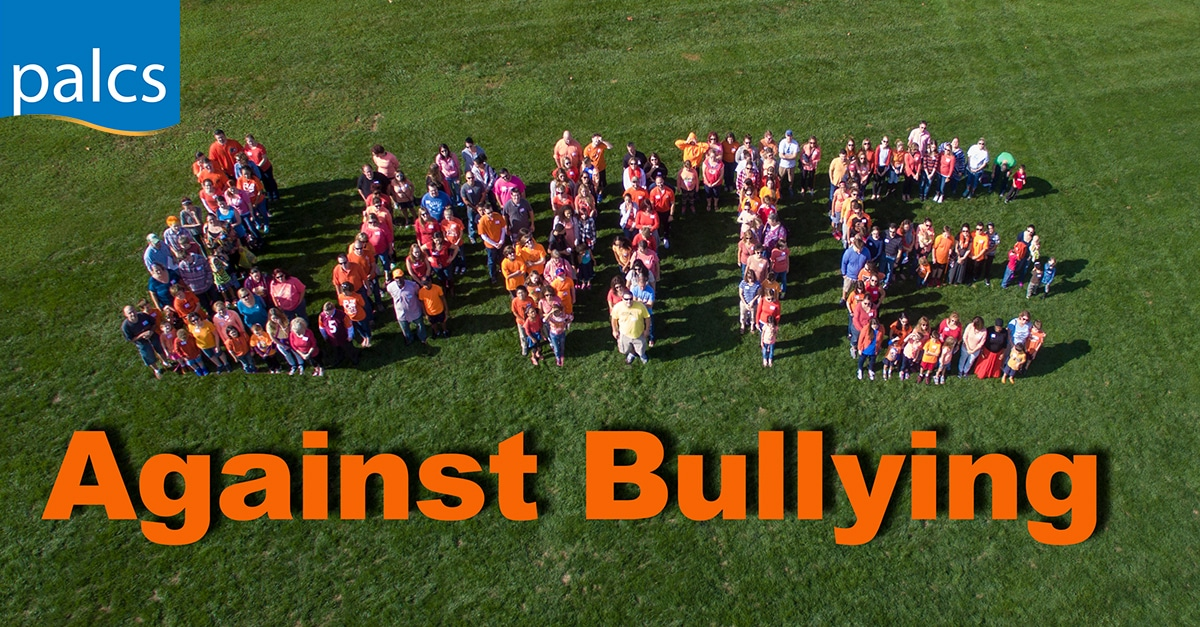 Unite against bullying. Message from our guidance department - Bullying Prevention Month